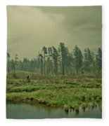 Another World-another Time Fleece Blanket