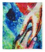Answered Prayer Fleece Blanket