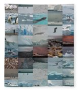 Antarctic Mosaic Fleece Blanket