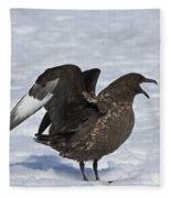 Antarctic Predator.. Fleece Blanket