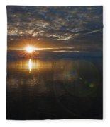 Antarctic Twilight... Fleece Blanket