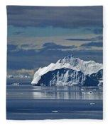 Antarctica.. Fleece Blanket