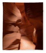 Antelope Canyon 12 Fleece Blanket