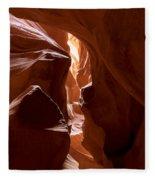 Antelope Canyon 4 Fleece Blanket