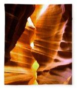 Antelope Canyon Page Arizona Fleece Blanket