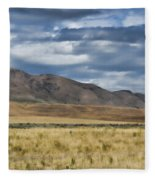 Antelope Island Camera Flats Fleece Blanket