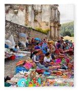 Antigua Guatemala Fleece Blanket