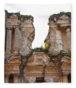 Antigua Ruins Fleece Blanket