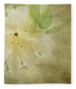 Antique Azalea Fleece Blanket