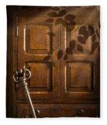 Antique Cabinet Fleece Blanket