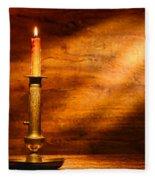 Antique Candlestick Fleece Blanket