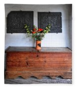 Antique French Chest Fleece Blanket