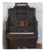 Antique Organ Fleece Blanket