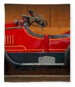 Antique Pedal Car 2 Fleece Blanket
