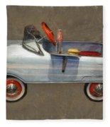 Antique Pedal Car Lv Fleece Blanket