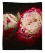 Antique Romance Fleece Blanket