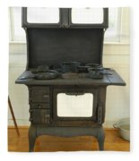 Antique Stove Number 2 Fleece Blanket