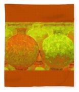 Antique Vases Fleece Blanket