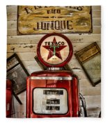 Antiques And Junque Fleece Blanket