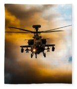 Apache Hunter  Fleece Blanket