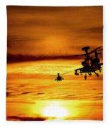 Apaches  Fleece Blanket