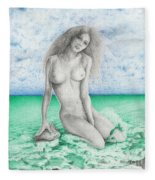 Aphrodite Fleece Blanket