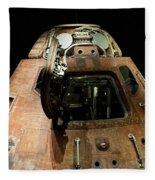 Apollo Space Capsule Fleece Blanket