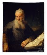 Apostle Paul Fleece Blanket