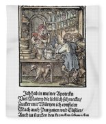 Apothecary, 1568 Fleece Blanket