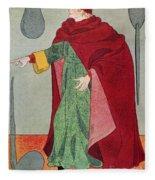 Apothecary, 15th Century Fleece Blanket