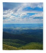 Appalachain Trail View Fleece Blanket