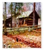 Appalachian Autumn Fleece Blanket