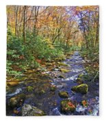 Appalachian Highlands Fleece Blanket