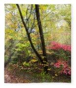 Appalachian Mountain Trail Fleece Blanket