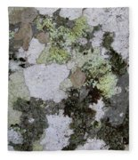 Appalachian Stone Flora Fleece Blanket
