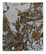 Apparitions On Ice Fleece Blanket