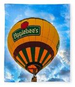 Appelbee's Hot Air Balloon Fleece Blanket