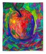 Apple A Day Fleece Blanket