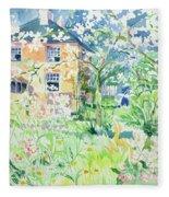 Apple Blossom Farm Fleece Blanket