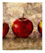 Apple Fleece Blanket