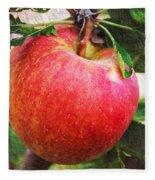 Apple On The Tree Fleece Blanket