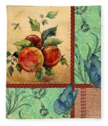 Apple Tapestry-jp2203 Fleece Blanket