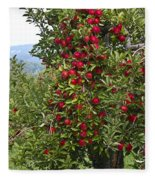 Apple Tree Fleece Blanket