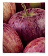 Apples 01 Fleece Blanket