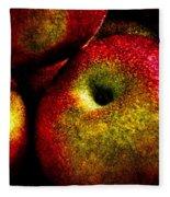 Apples Two Fleece Blanket