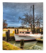 April Dawn Poquoson Virginia Fleece Blanket