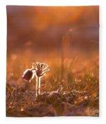 April Morning Fleece Blanket