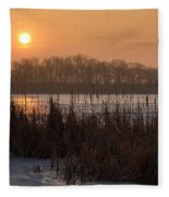 April Morning Fleece Blanket
