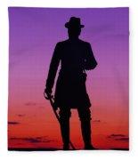 April Sunset In Gettysburg Fleece Blanket