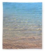 Aqua Art Fleece Blanket